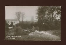 Devon CULLOMPTON Old Mill and Church Used 1910 RP PPC