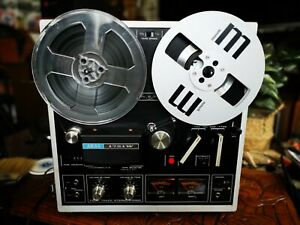 Akai 1721W Four Track Stereophonic Reel To Reel