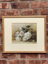 Australian Artist Paul Osborne Jones Floral Still Signed Life Oil Painting. 1960