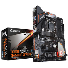 Gigabyte B360 AORUS GAMING 3 WIFI ATX Motherboard for Intel LGA1151 CPUs