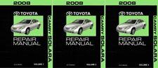 2008 Toyota Camry Solara Shop Service Repair Manual Complete Set