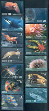 Norway - 9 different marine life stamps Lot 0_284