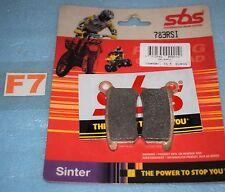 2 plaquettes de frein SBS Off road racing KTM SX 65 85 / HUSQVARNA CR 65