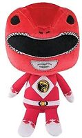 Plush--Power Rangers - Red Ranger Hero Plush