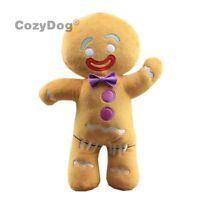 Cartoon Shrek Adventure Gingerbread Man Gingy Plush Doll Stuffed Pillow Toy Gift