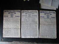 1953 FORT RICHARDSON BASE NEWSPAPER Grouping w Docs ALASKA USARAL ELMENDORF vtg