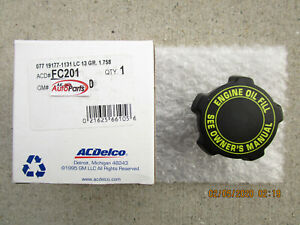 GM GMC CHEVY 15681150 ACDELCO FC-201 FC201 ENGINE OIL FILLER FLUID CAP OEM NEW