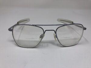 randolph engineering Sunglass Eyeglass Frame USA MATTE CHROME AF 52-20 5 1/2 G40