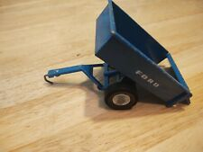 Vintage Ertl Ford Blue Diecast Steel Dump Trailer 815-7211A 815-7212A Door