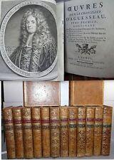 Aguesseau Droit Histoire Oeuvres 13/13 v + table manuscrite + lettres inédites