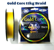 Braid Gold Core Fishing Braid Line 15kg/33lb 200 mt spool