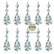 H&D 10x Hängend Kristall Regenbogen Prisma Mit Octagon Perlen für Pendelleuchte