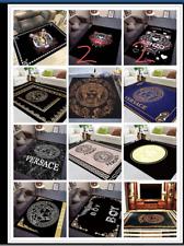 Fashion Tide Velboa  Floor Rug Carpet Bedroom Doormat Non-slip Mat