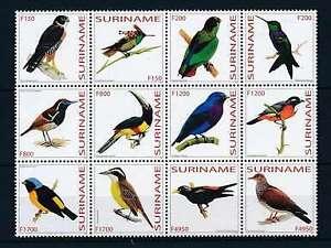 [SU1181] Suriname Surinam 2003 Birds  MNH