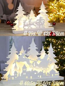 Light Up Christmas Silhouette Decoration LED Reindeer Xmas Modern Ornament
