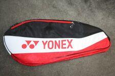 YONEX  RED WHITE BLACK RACKET BAG  TENNIS BADMINTON  SQUASH