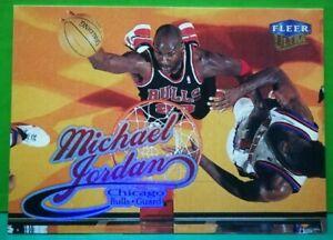 Michael Jordan regular card 1998-99 Fleer Ultra #85