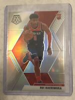 RUI HACHIMURA 2019-20 Panini Mosaic TRUE SILVER Rookie Card RC Wizards PSA 10?