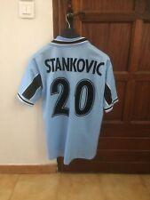 maillot maglia lazio rome stankovic collector  taille L match worn
