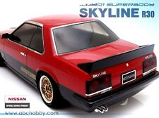 ABC HOBBY RC 1/10 SKYLINE R30 Clear Body Drift Hashiriya PANDORA D-like Yokomo