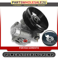 Power Steering Pump w/ Pulley for Kia Sorento LX 2003-06 3.5L SUV DOHC 21-5393