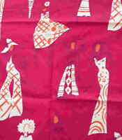 Collection red stylish ladies Alexander Henry fabric