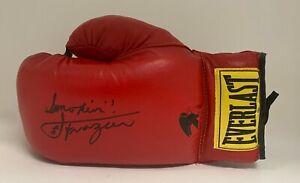 Smokin Joe Frazier Signed Everlast Boxing Glove Autographed AUTO JSA COA