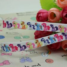 "My Little Pony Ribbon 3/8"" Wide 2m is only £1.29 NEW UK SELLER FREE P&P"
