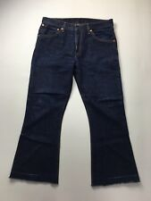 LEVI'S 516  Bootcut/Flare Jeans - W34 L28 - Dark Navy Wash - Great Condition