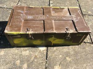Ammunition Ammo Box 105mm Ideal Storage Tool Box 64cm L x 33.5cm W x 18cm H