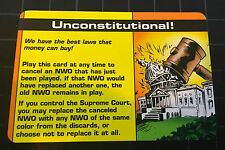 Illuminati Unconstitutional Promo Card Steve Jackson Games