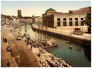 Thorvaldsens Museum Copenhagen Denmark ca. 1890