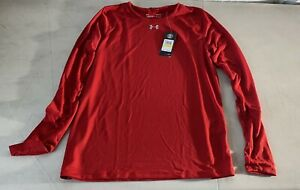 Under Armour WOMENS  Locker 2.0 Long Sleeve - Style 1305681 - Flawless Red