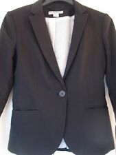 H&M Womens Black Jacket - Size Eur 36 - lined - business wear