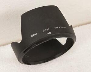 Nikon HB-35 HB 35 Hood DX Nikkor AF-S 18-200mm f/3.5-5.6 G ED VR VRII lens mjb