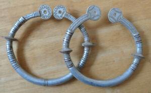 Aluminiumohrringe, Peul, Mali, Aluminium Ear-Rings, Fulani, Mali