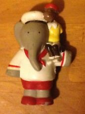 1990 Arbys Arby's Kids Meal Toys Babar the Elephant World Tour Figure