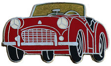 Triumph TR3 car cut out lapel pin - Red