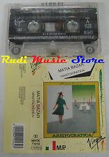 MC MATIA BAZAR Aristocratica 1991 VIRGIN ITALY MPITK 71016 no cd lp dvd