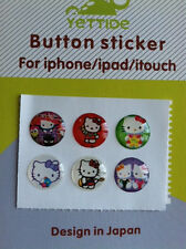 CUTE Hello Kitty  Sticker for Apple iPhone 3,4, 4S, 5, iPod, iPad - US Seller