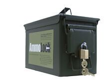50 Cal Ammunition Can Gun Lock ATV Ammo Box Lock Box Kid Safe Survival Kit