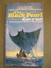 Lot of 2 The Black Pearl (1977 PB) & Sing Down the Moon (1970 LIBRARY BOUND)