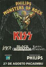 Kiss-Brazilian Monsters Of Rock, Estádio do Pacaembu - 27 August 1994 poster