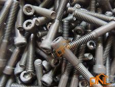 10Pcs Hex Socket Head Cap Screw,1/4-20x2 Fasten bolt