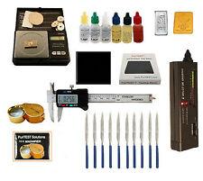 Gold Acid Testing Kit Electronic Diamond Tester oz Digital Caliper 14K Silver