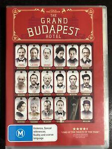 The Grand Budapest Hotel DVD Region 4