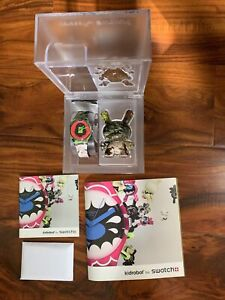 Swatch Kidrobot Tic Tic Boom GB251 Ssur Brand New With All Accessories
