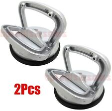 """(2) 4-5/8"""" Heavy Duty Aluminum Suction Cup Dent Puller Lifter Glass Remover Hold"""