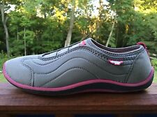 Rocket Dog Shoes Grey with Pink Womans Sz 7 *Nice*