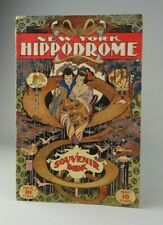 Antique Vintage Program NY Hippodrome Souvenir Book Windsor McKay Cover 1909-10